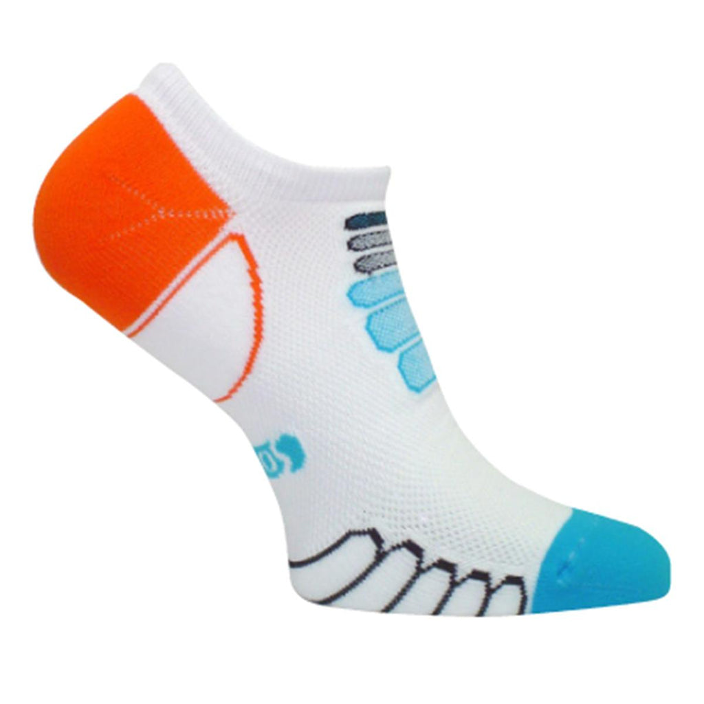 Ultra Lightweight Sprint Silver Ghost Low Cut Sock / Color-Turquoise