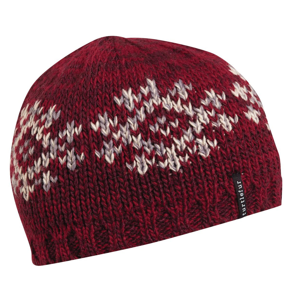 Star Shine Beanie / Color-Maroon
