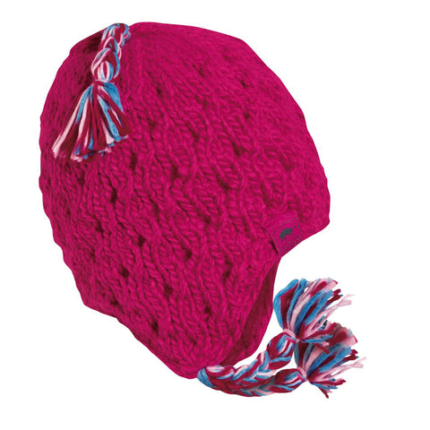 Kids Caravan Hand Knit Beanie / Color-Lotus
