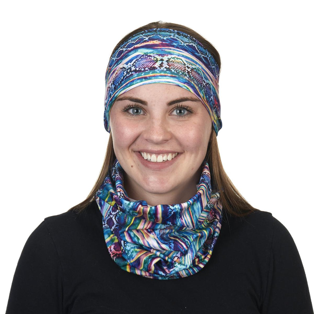 Lightweight Totally Tubular Headwear, Prints / Color - Snakedelic