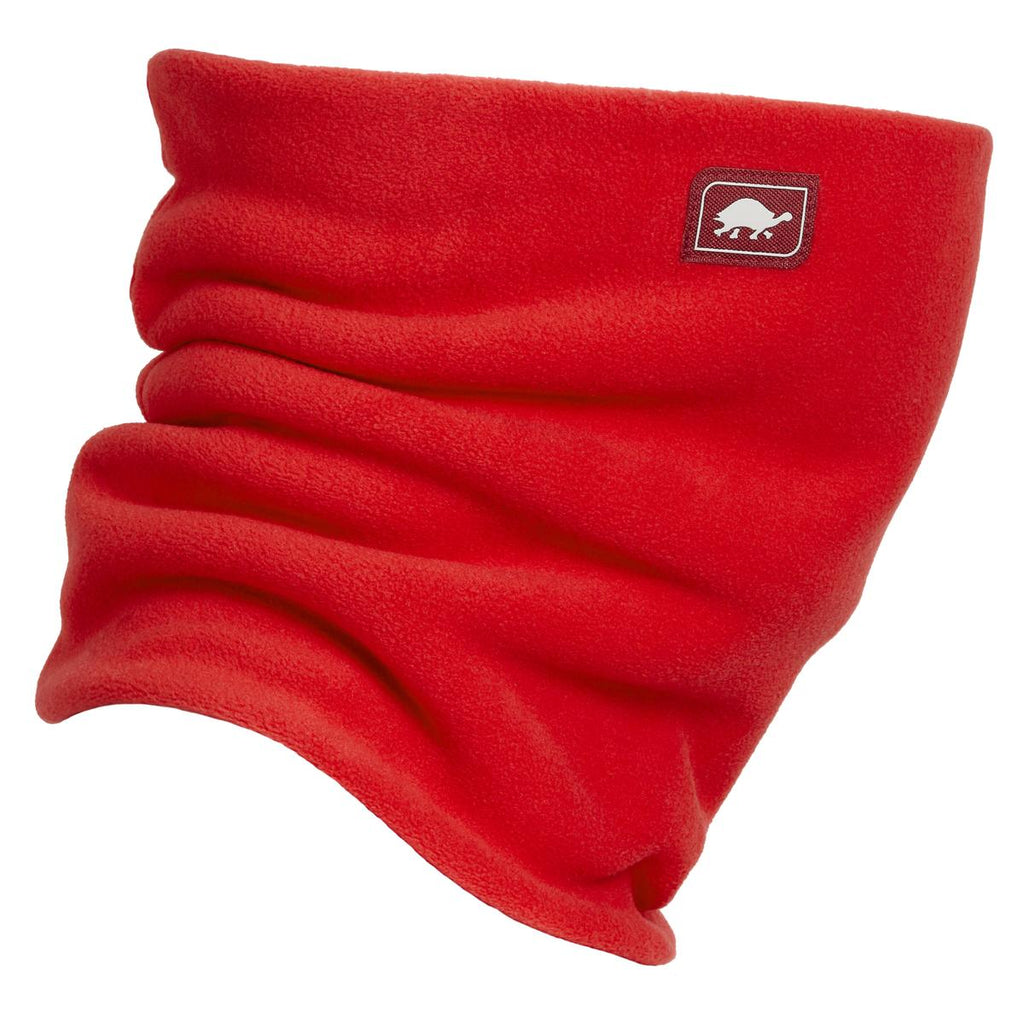 Double-Layer Classic Neck Warmer / Color-Red