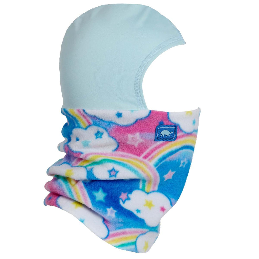 Kids Playful Prints Fleece Shellaclava / Color-Rainbow Sky