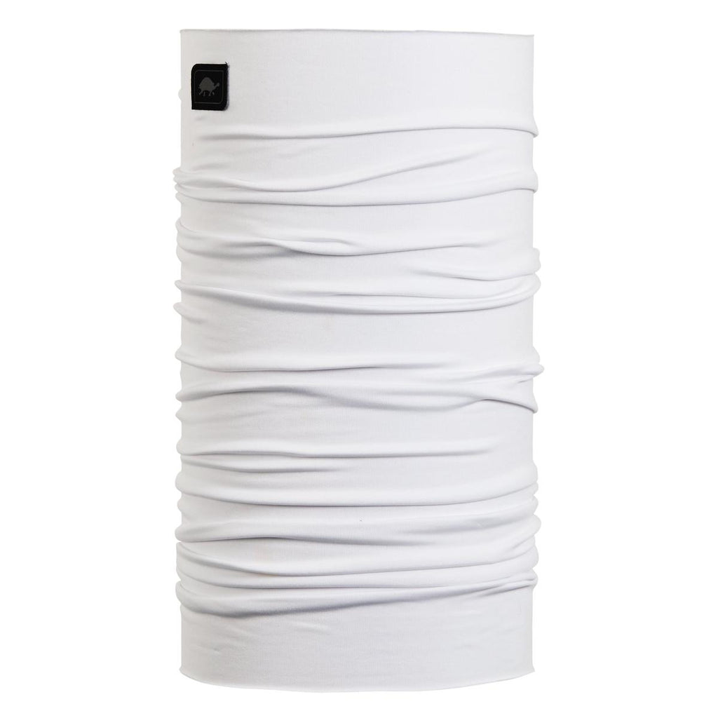 Lightweight Totally Tubular Headwear, Solid Colors / Color-White