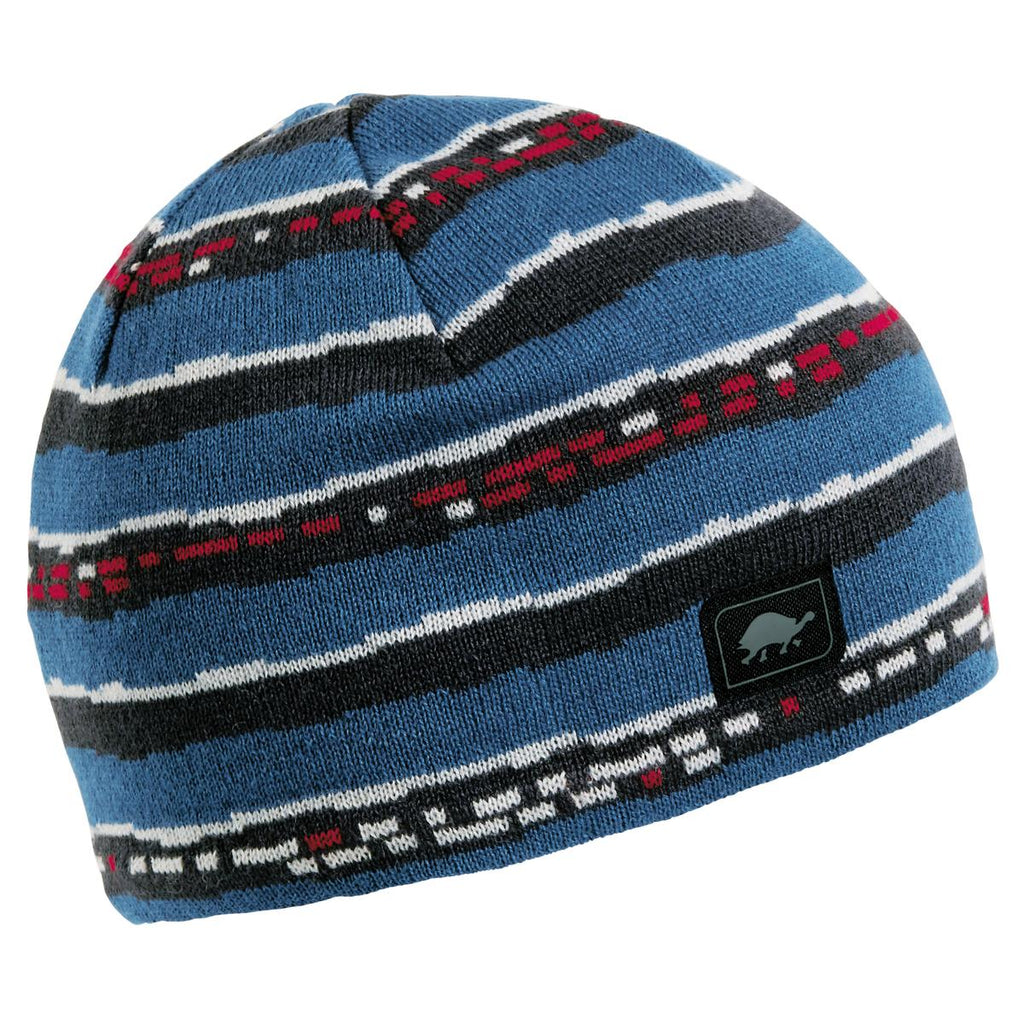 Side Track Beanie / Color-Blue