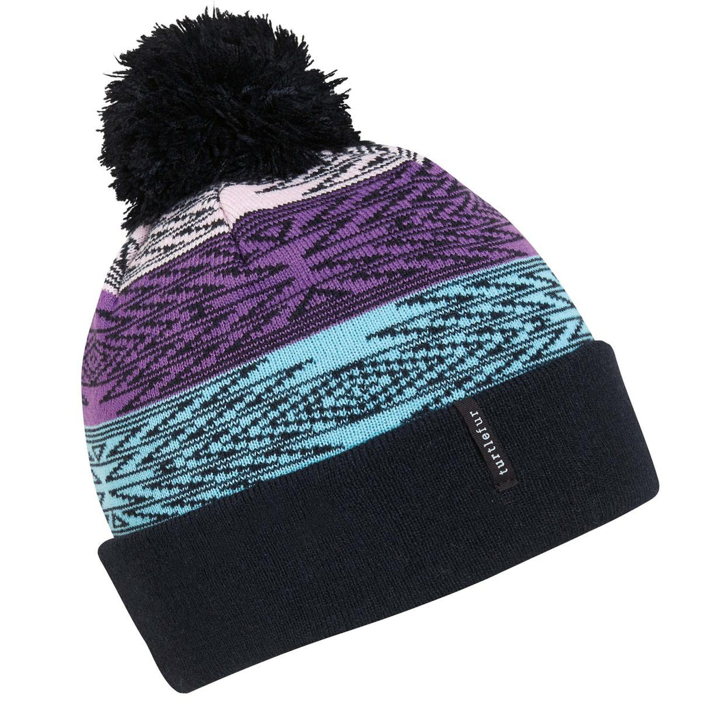 Kids Meadow Pom Beanie / Color-Black