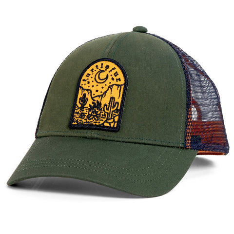 Saguaro Trucker / Color - Green