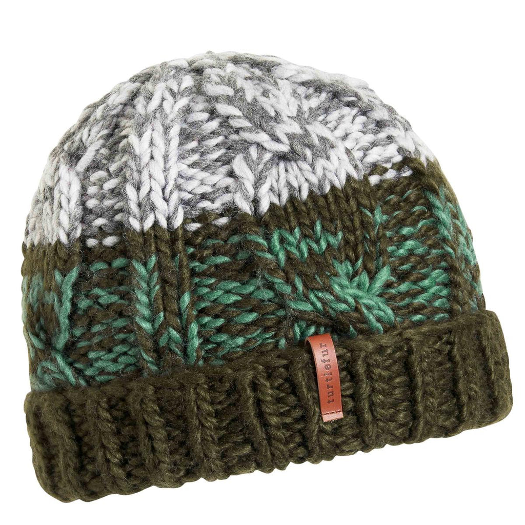 Paul Knit Beanie / Color-Forest