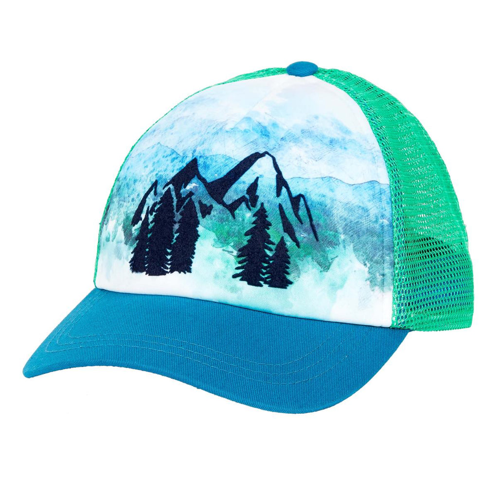 Great Outdoors Trucker / Color-Evergreen