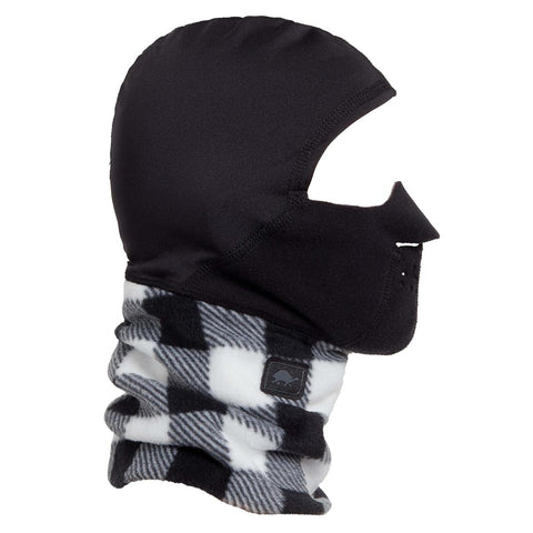 Kids Playful Print Polartec Windbloc Maskot / Color-Plaid Check
