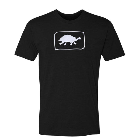 Turtle Fur Logo T-Shirt, Black / Color-Black