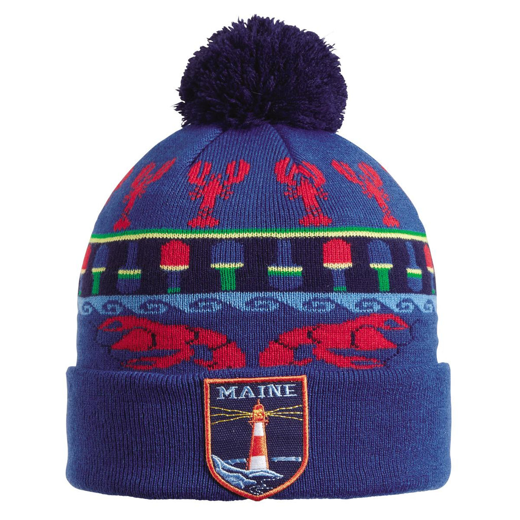 Great State Pom Beanie / Color-Maine