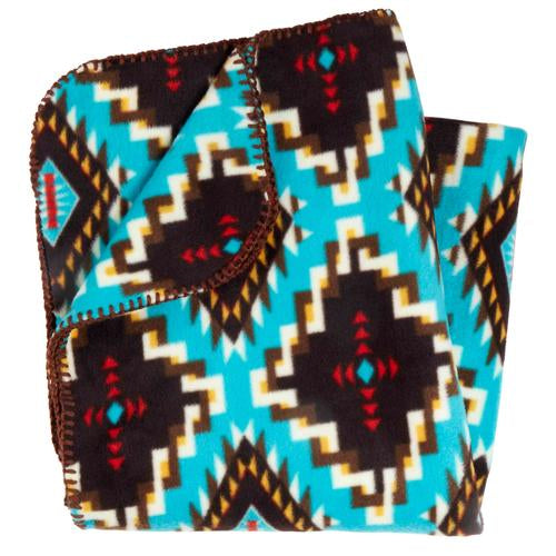 Classic Fleece Camping Blanket / Color-Tribal Spirit