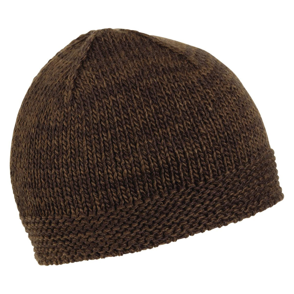 Brax Knit Beanie / Color-Brown