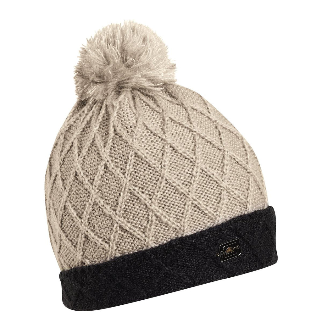 Eugenie Pom Beanie / Color-Smoke