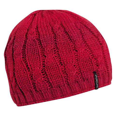 Alison Knit Beanie / Color-Berry