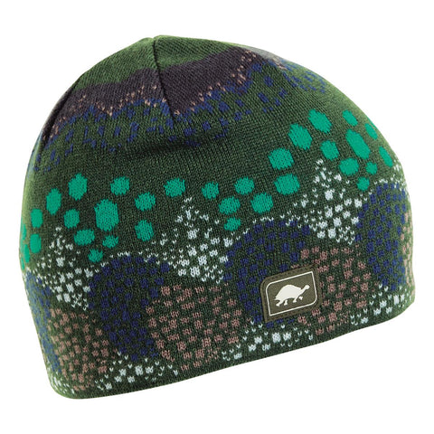 Topiary Knit Beanie / Color-Oregano