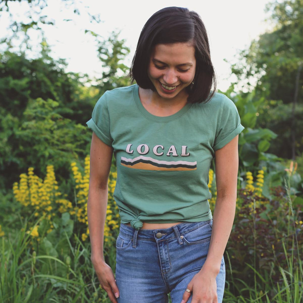 Women's Local T-Shirt / Color - Pine