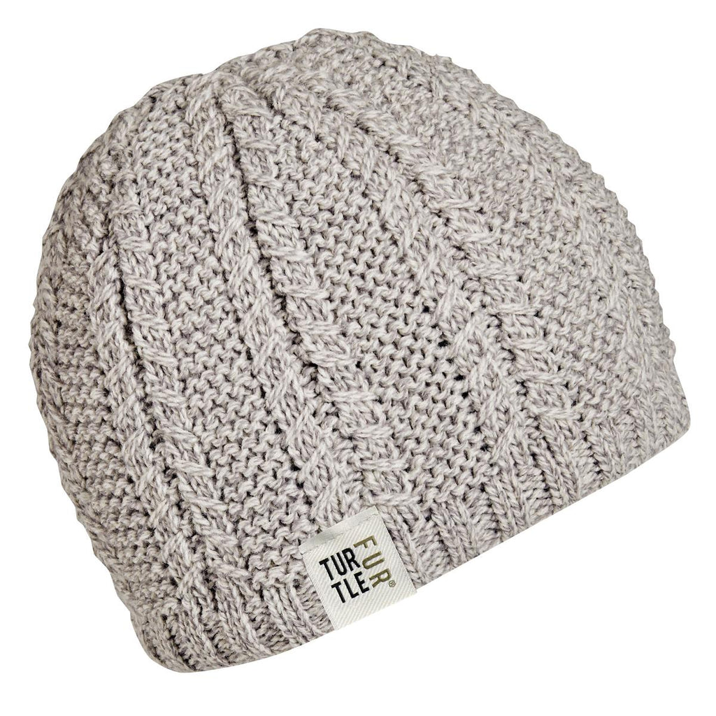 Finn Knit Beanie / Color-Beige