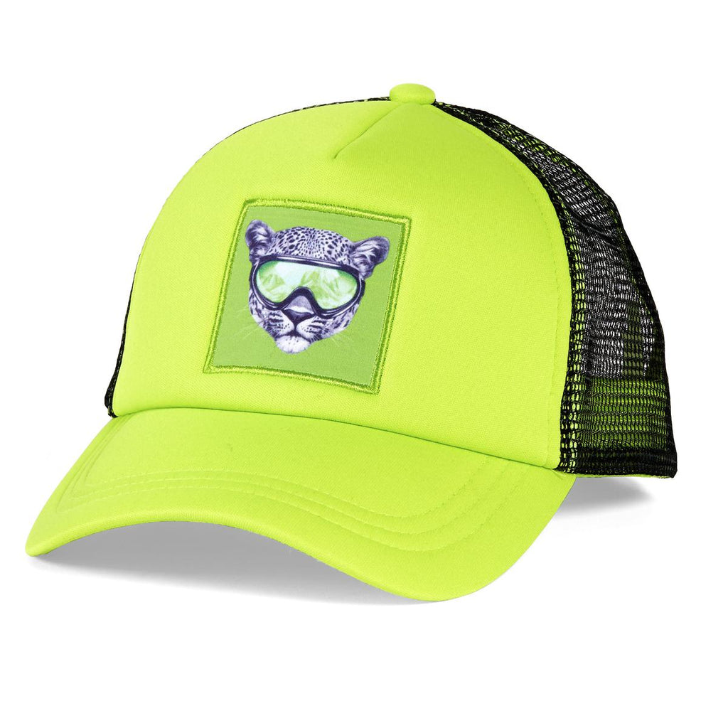 Snow Creature Trucker / Color-Cheetah