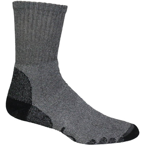 Eurosock Outdoor Trekking Crew Sock / Color-Dark Gray
