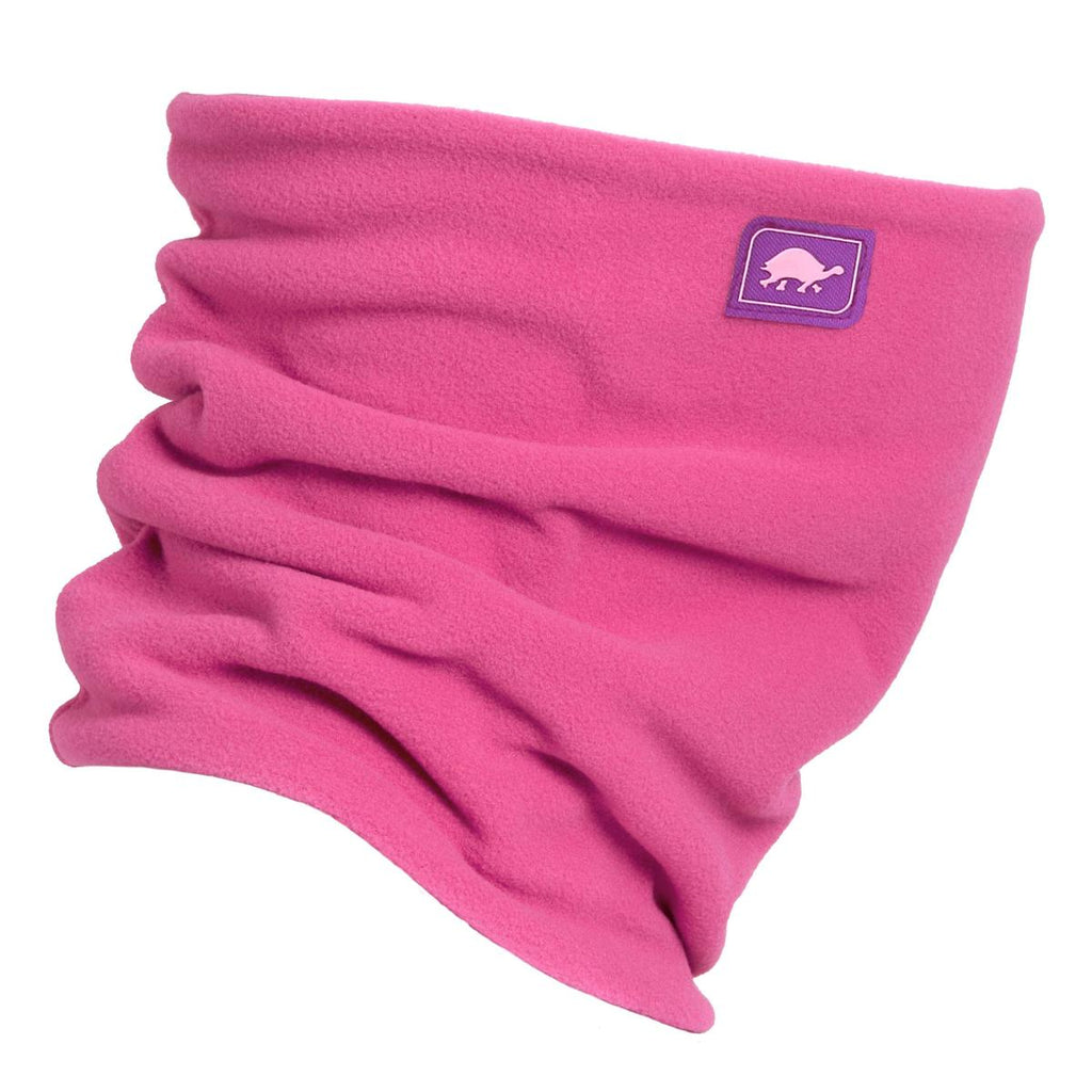 Micro Fur Fleece Double-Layer Neck Warmer / Color-Pinky Promise