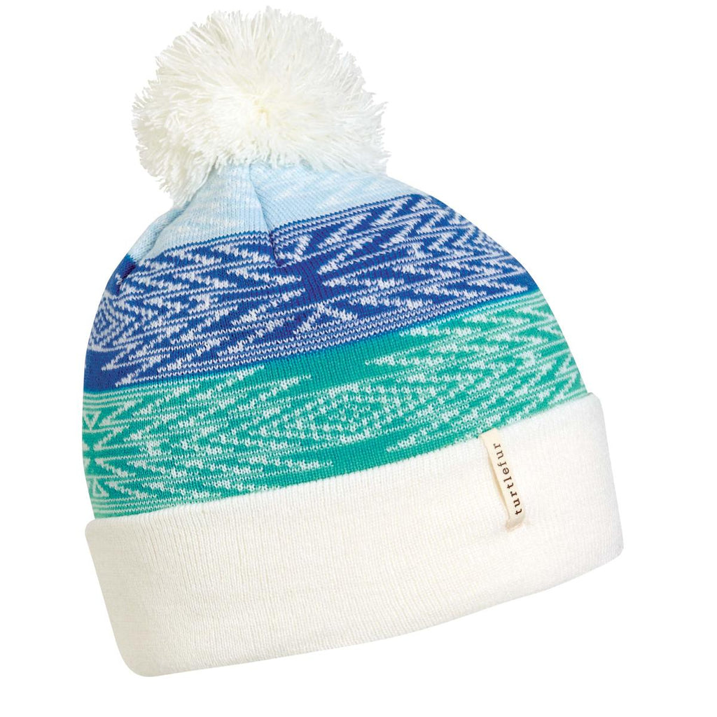Kids Meadow Pom Beanie / Color-White