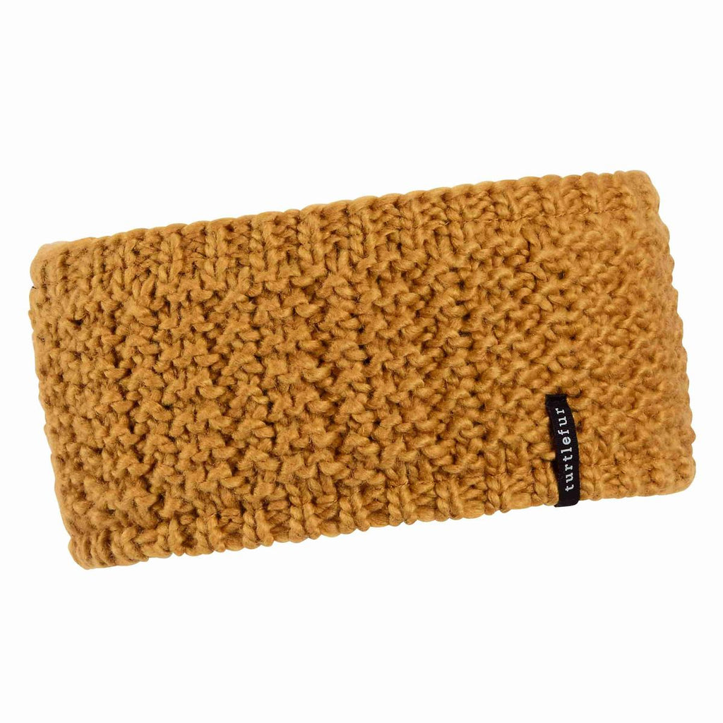 Shay Knit Headband / Color-Gold