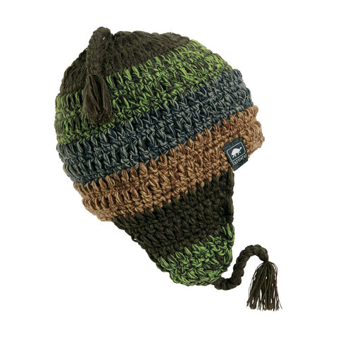 Joe Seafus Earflap Hat / Color-Olive