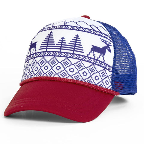 Nordic Deer Trucker / Color - White