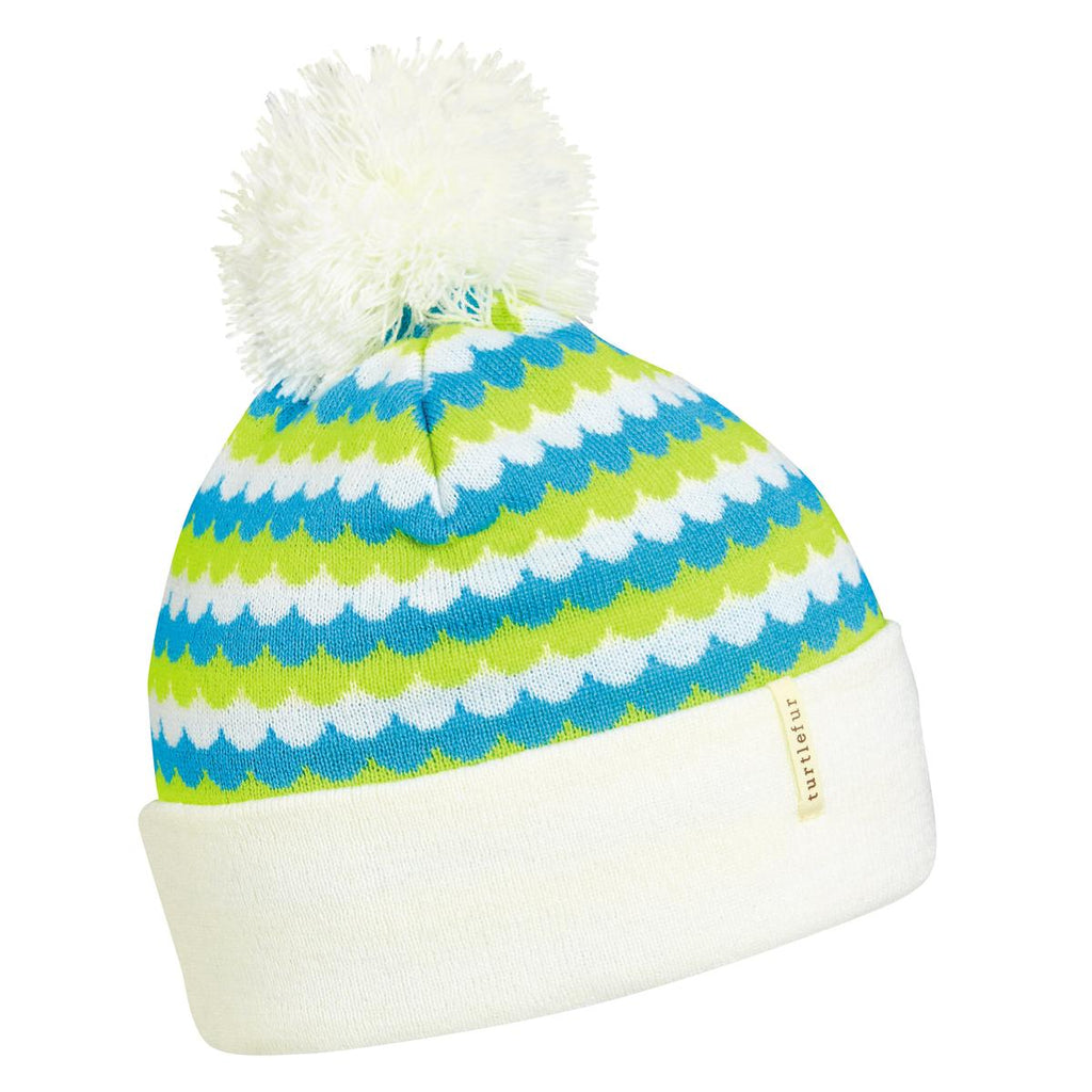 Scale Model Pom Beanie / Color-White