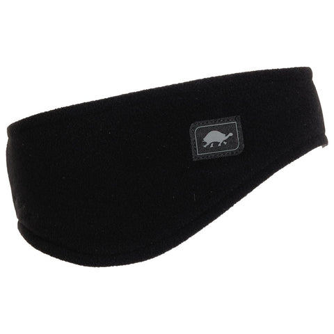 Micro Fur Fleece Earband / Color-Black