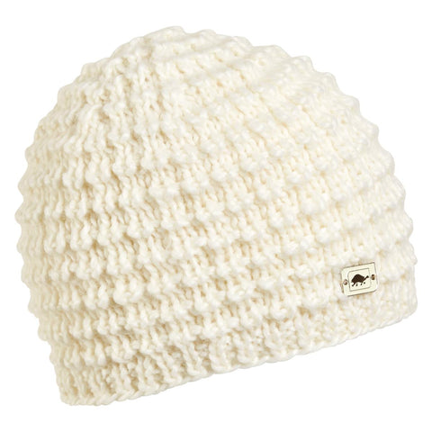 Rapunzel Hand Knit Beanie / Color-White