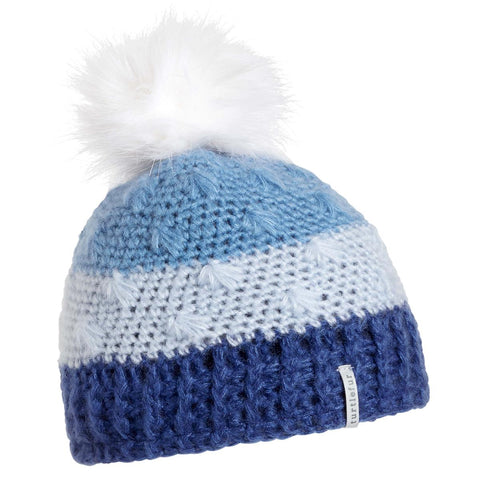 Youth Phyllis Faux Fur Pom / Color-Blue