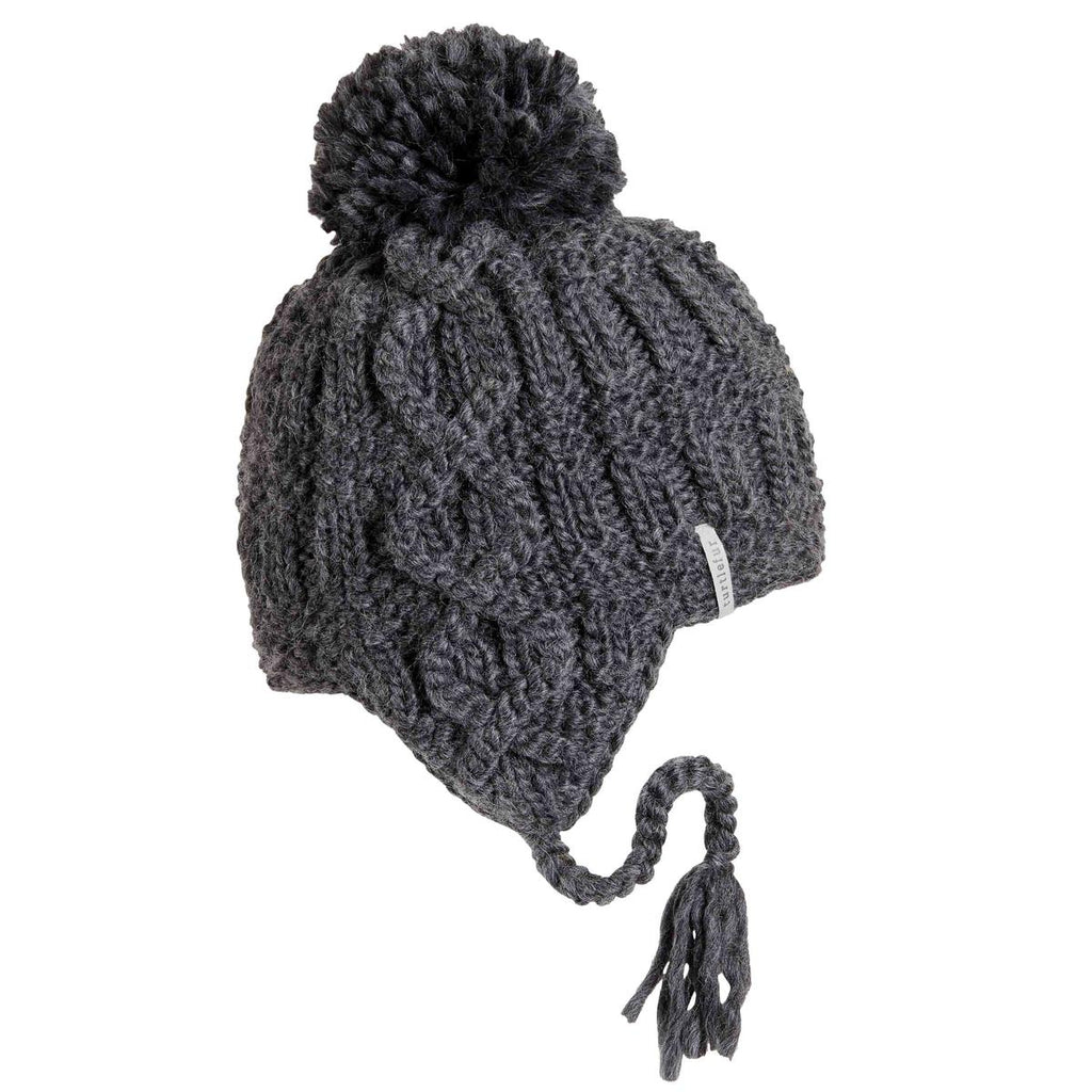 Gianna Pom Earflap / Color-Smoke