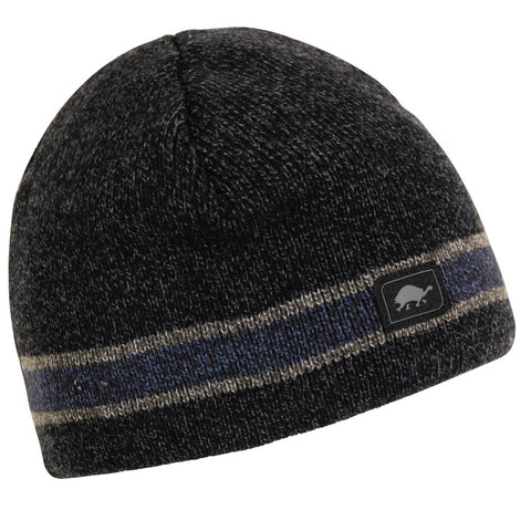 Boston Ragg Wool Beanie / Color - Black Heather