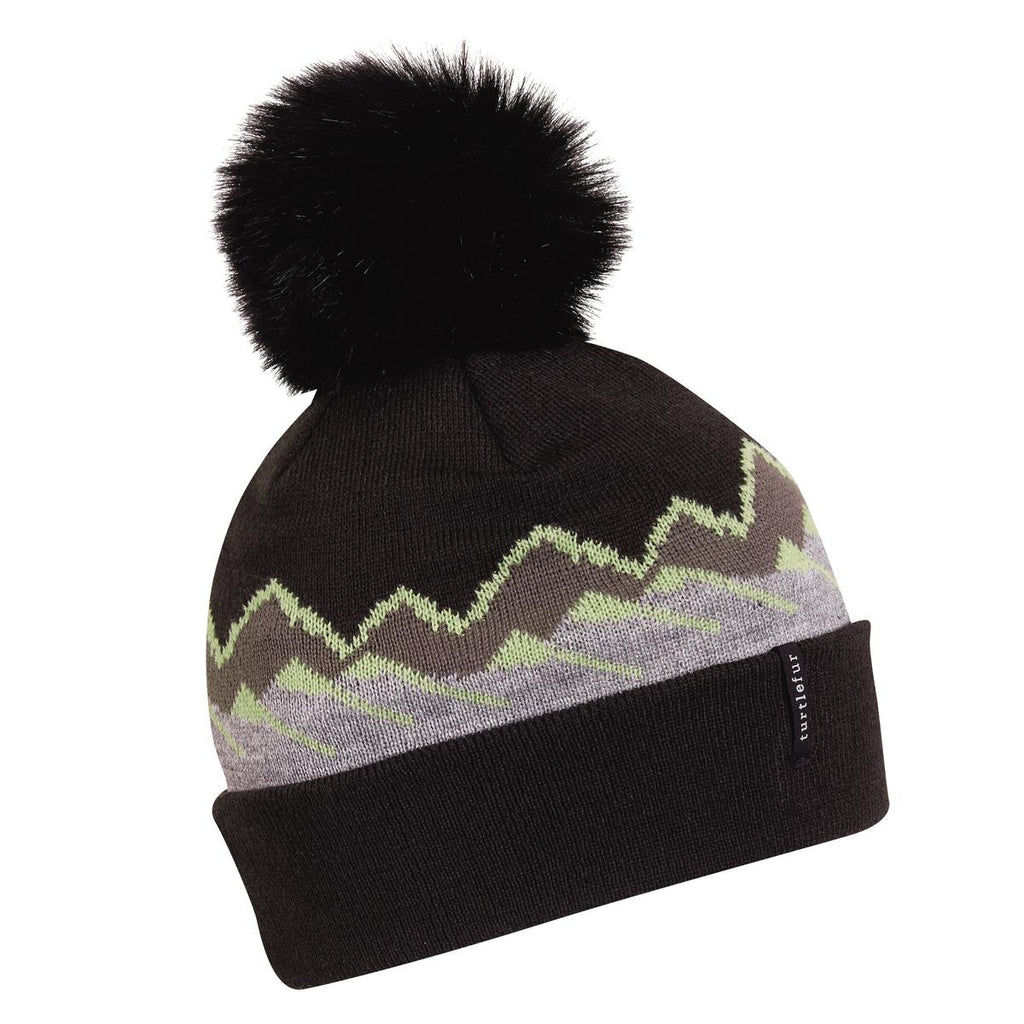 Ridgeline Pom Beanie / Color-Black