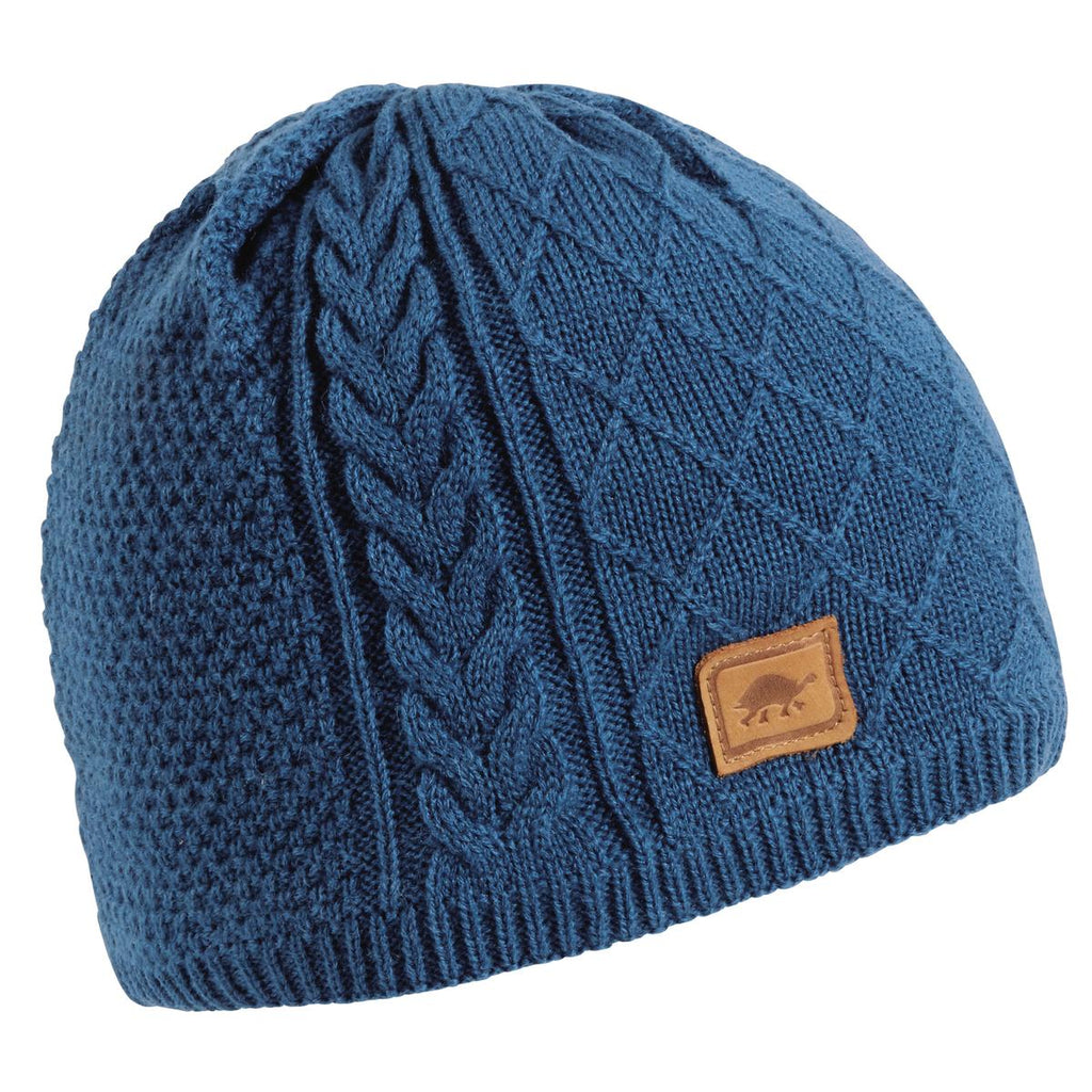 Yeti Knit Beanie / Color-Blue