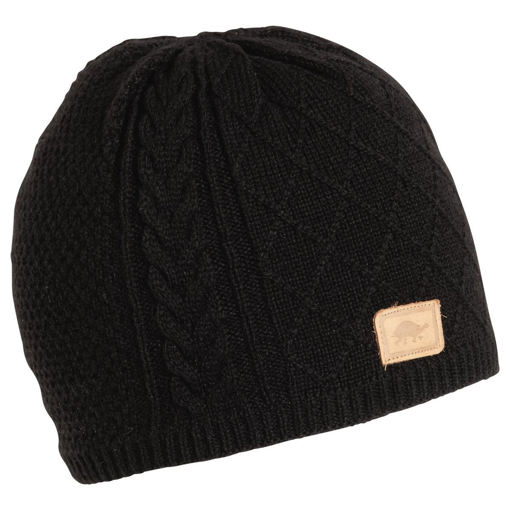 Yeti Knit Beanie / Color - Black
