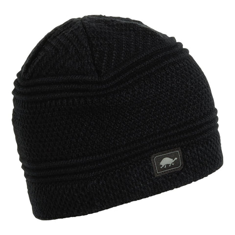 Sifter Knit Beanie / Color-Black