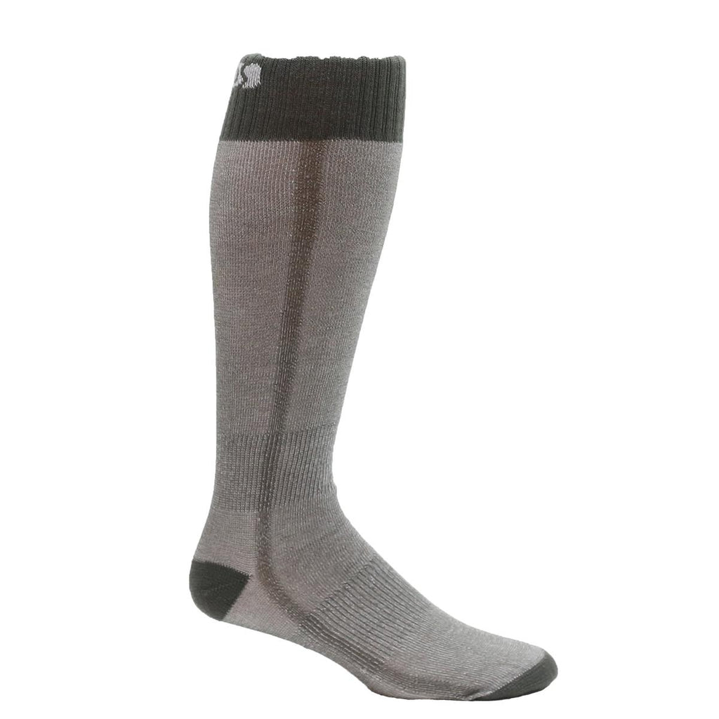 Lightweight Snow Base OTC Sock / Color - Charcoal
