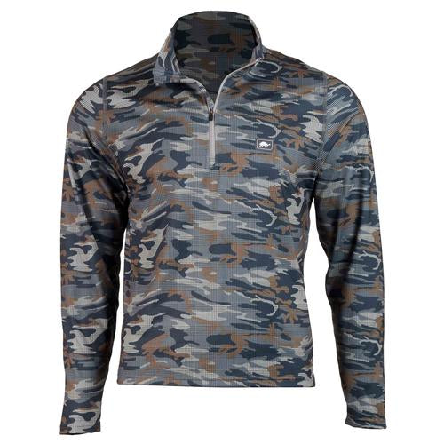 Men's Comfort Shell Carapace High Energy 1/4 Zip / Color-Strong Suit
