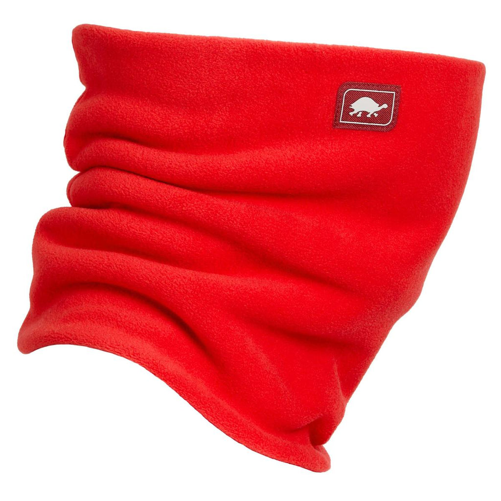 Chelonia 150 Fleece Double-Layer Neck Warmer / Color-Red