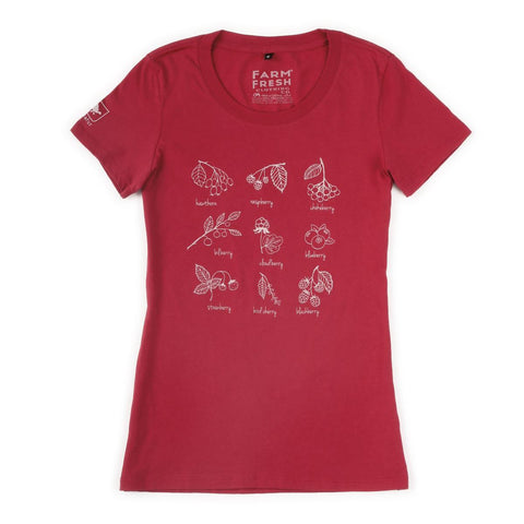 Women's Wild Berry T-Shirt / Color-Watermelon
