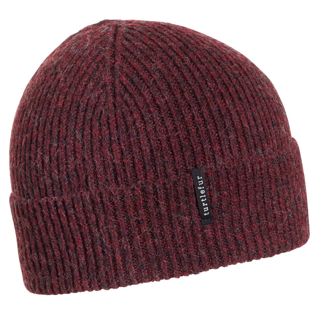 Recycled Williamsburg Watch Cap / Color-Wine