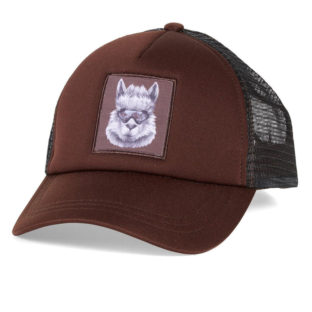 Snow Creature Trucker / Color-Camel
