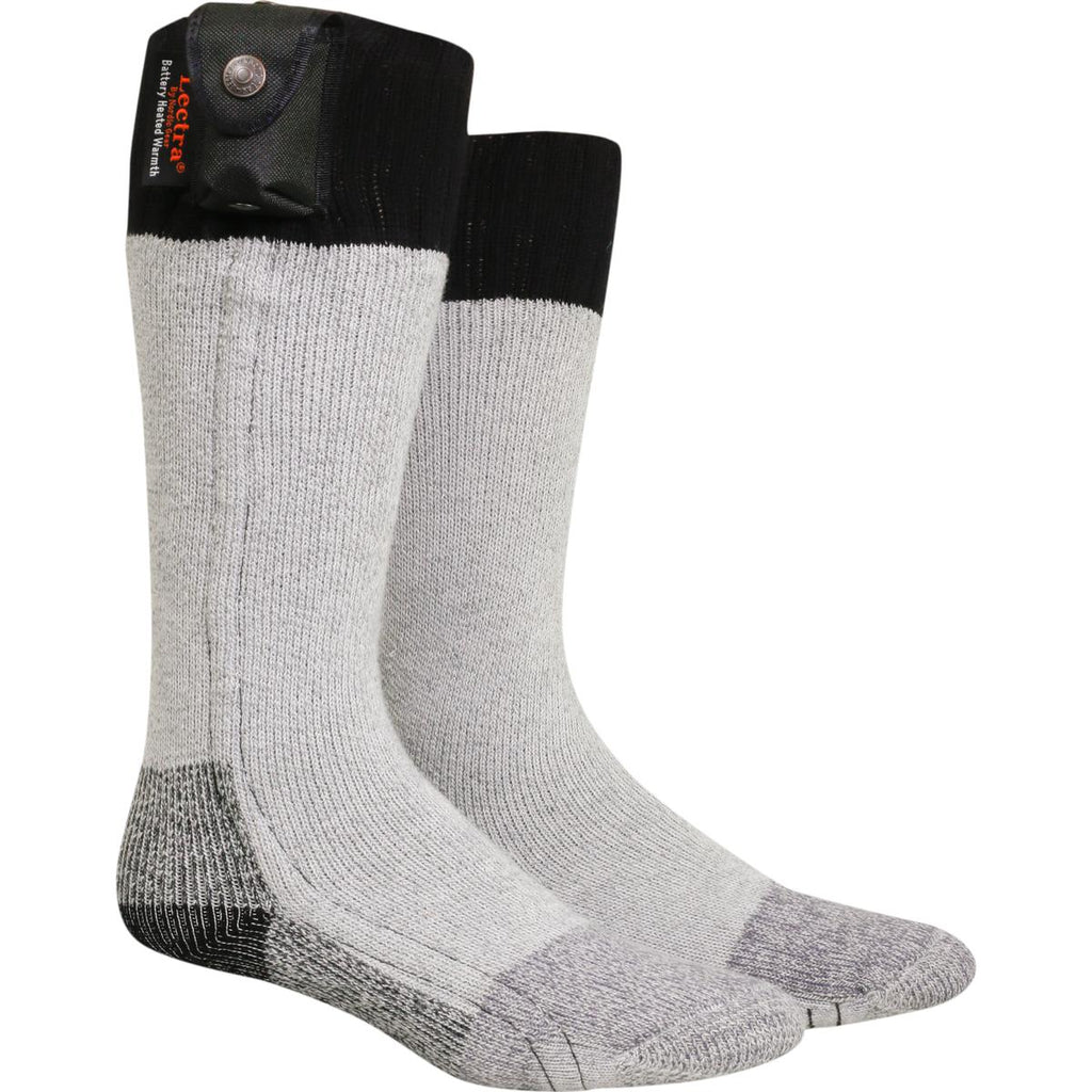 Lectra Sox Battery Heated Hiker Socks / Color-Black