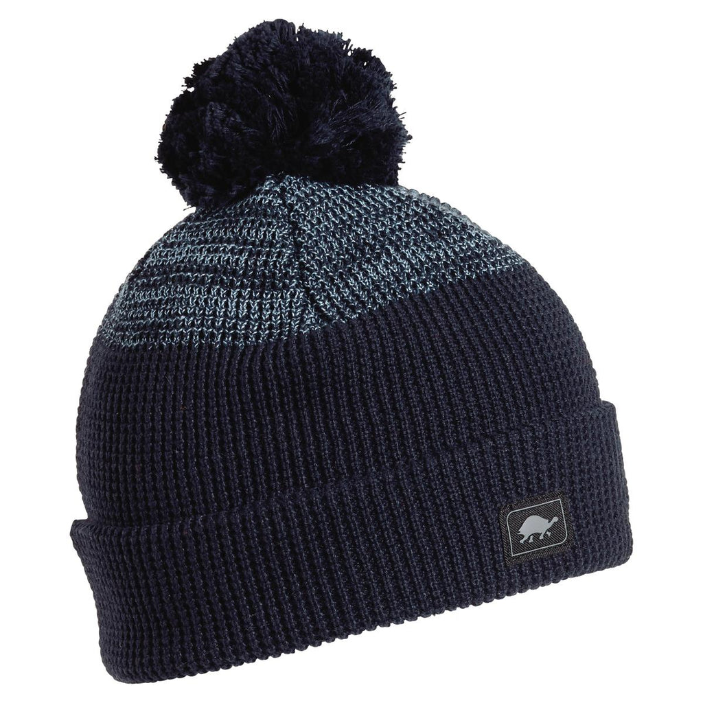 Keith Pom Beanie / Color - Navy