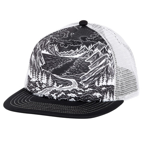 Mountainscape Trucker / Color-Black