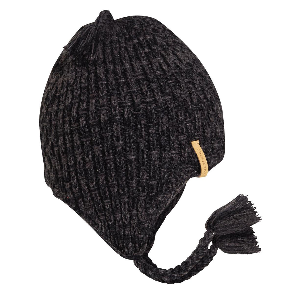 Khan Earflap Hat / Color-Black