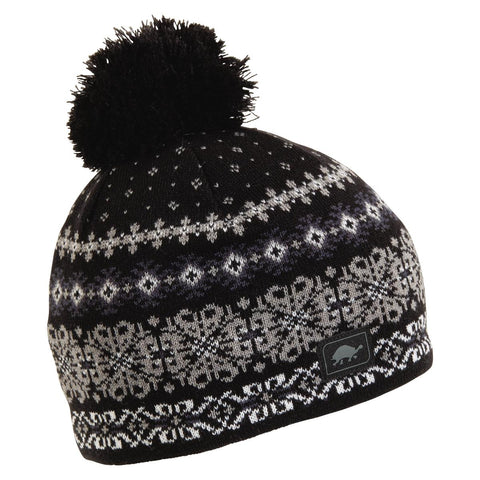 Lumi Pom Beanie / Color-Black